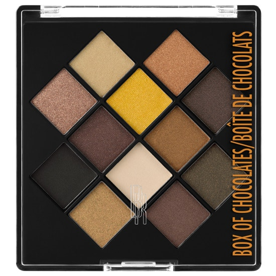 Black Radiance Beauty | Eye Appeal Shadow Palette - Box of Chocolates - Product front facing with white background
