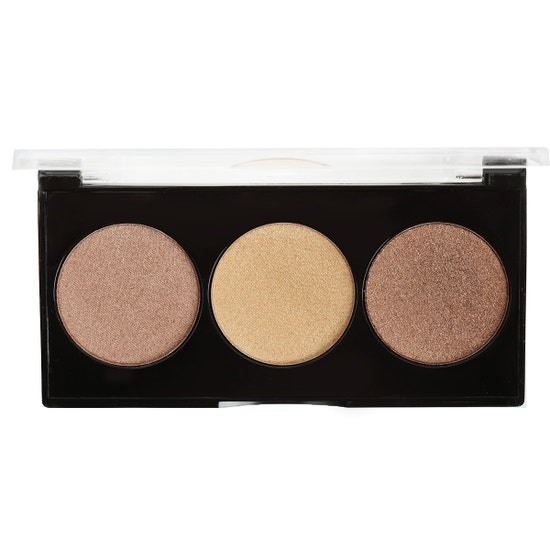 Black Radiance | True Complexion™ Illuminous Glow Palette - Love at First Highlight - Product front facing lid open with no background