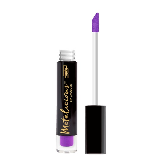 Black Radiance - Metalicious Lip Lacquers - Top Choice - product front facing with applicator along side, with no background