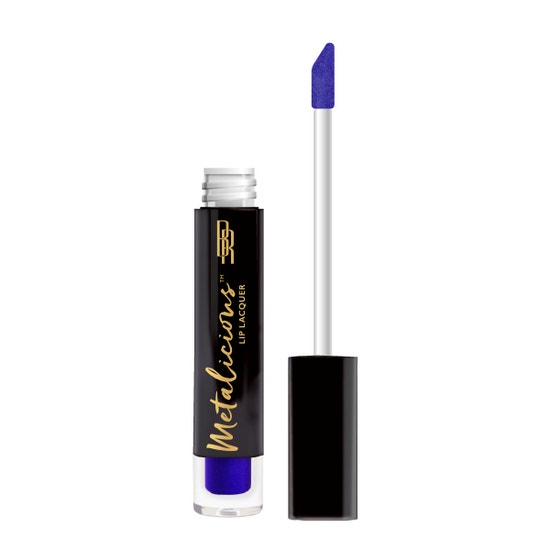 Black Radiance - Metalicious Lip Lacquers - Tip Top - product front facing with applicator along side, with no background