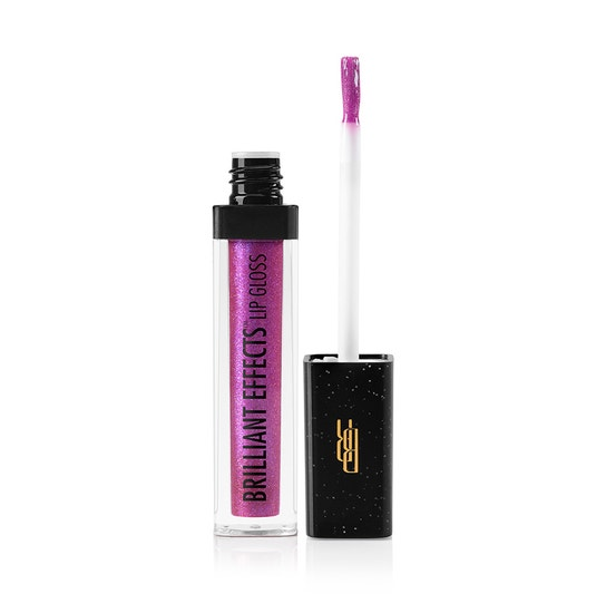Black Radiance Beauty | BRILLIANT EFFECTS LIP GLOSS - Product front facing applicator along side with white background