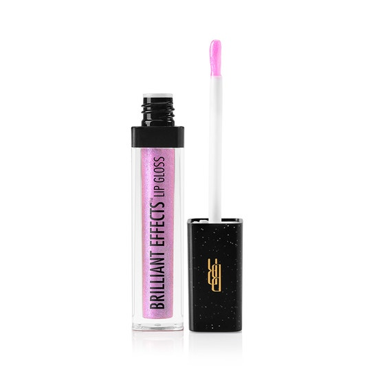 Black Radiance Beauty | BRILLIANT EFFECTS LIP GLOSS-Star Struck - Product front facing applicator along side with white background