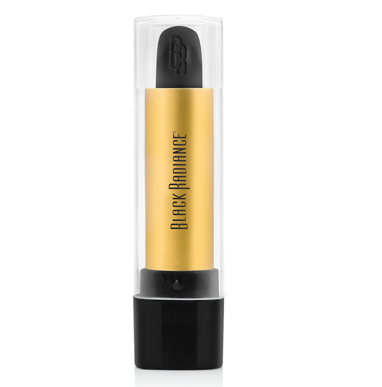 Black Radiance Beauty | PERFECT TONE LIP COLOR - Black Out - Product front facing, clear cap fastened with white background