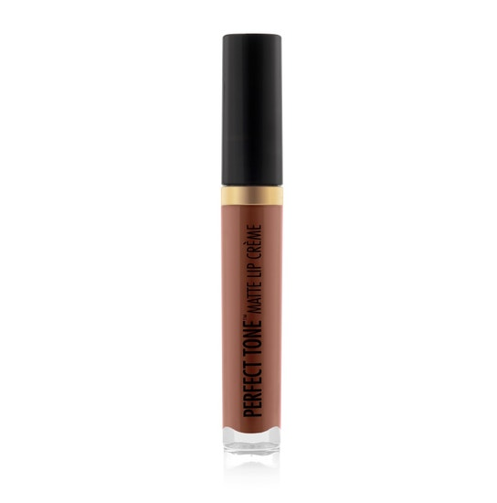 Black Radiance Beauty | PERFECT TONE MATTE LIP CREME- Sexy Siren - Product front facing cap fastened, with white background