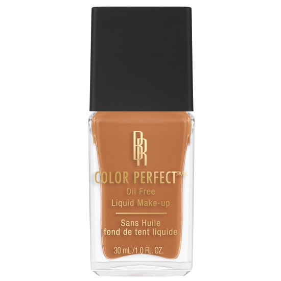 Black Radiance Beauty | COLOR PERFECT LIQUID MAKE-UP- Caramel - Product front facing cap fastened, with white background