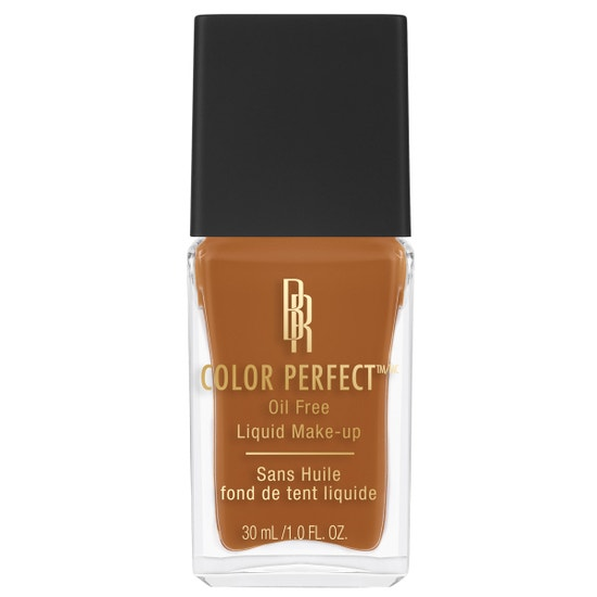 Black Radiance Beauty | COLOR PERFECT LIQUID MAKE-UP- Cinnamon - Product front facing cap fastened, with white background