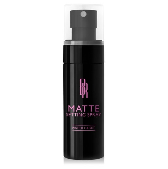 Black Radiance Beauty | Matte Setting Spray - Product front facing cap fastened, with white background