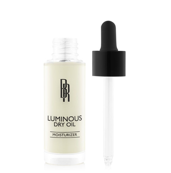 Black Radiance Beauty | Luminous Dry Oil - Product front facing applicator along side with white background