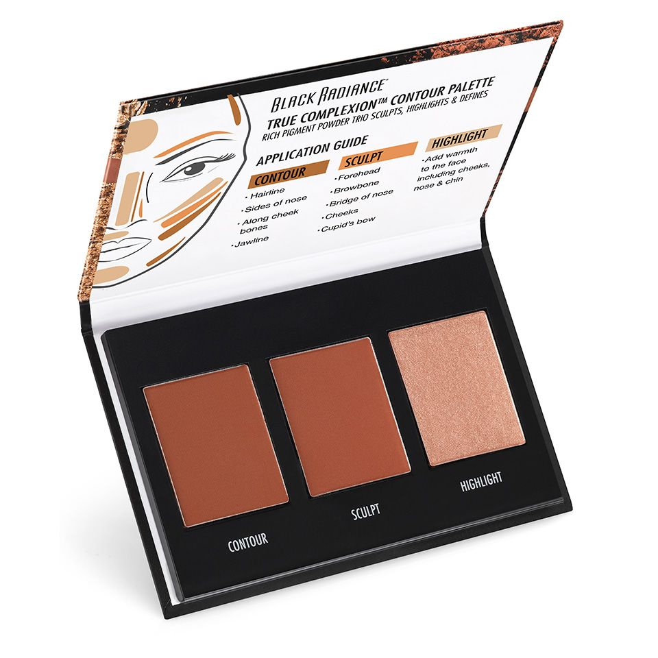 TRUE COMPLEXION™ CONTOUR PALETTE | Black Radiance Beauty