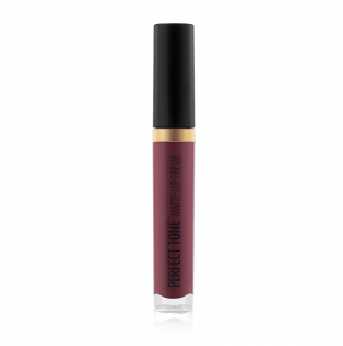 Black Radiance Beauty | PERFECT TONE MATTE LIP CREME - Bronze Sugar - Product front facing, cap fastened with white background