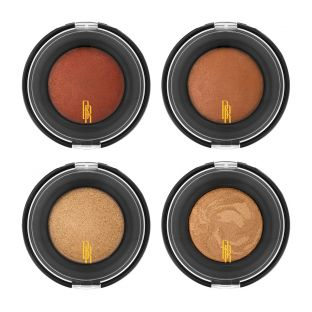 Black Radiance | Artisan Color Baked Blush & Bronzer Kit - Product front facing cap fastened, with white background