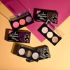Black Radiance | True Complexion™ Illuminous Glow Palette - Product front facing lid open - social image with colorful background
