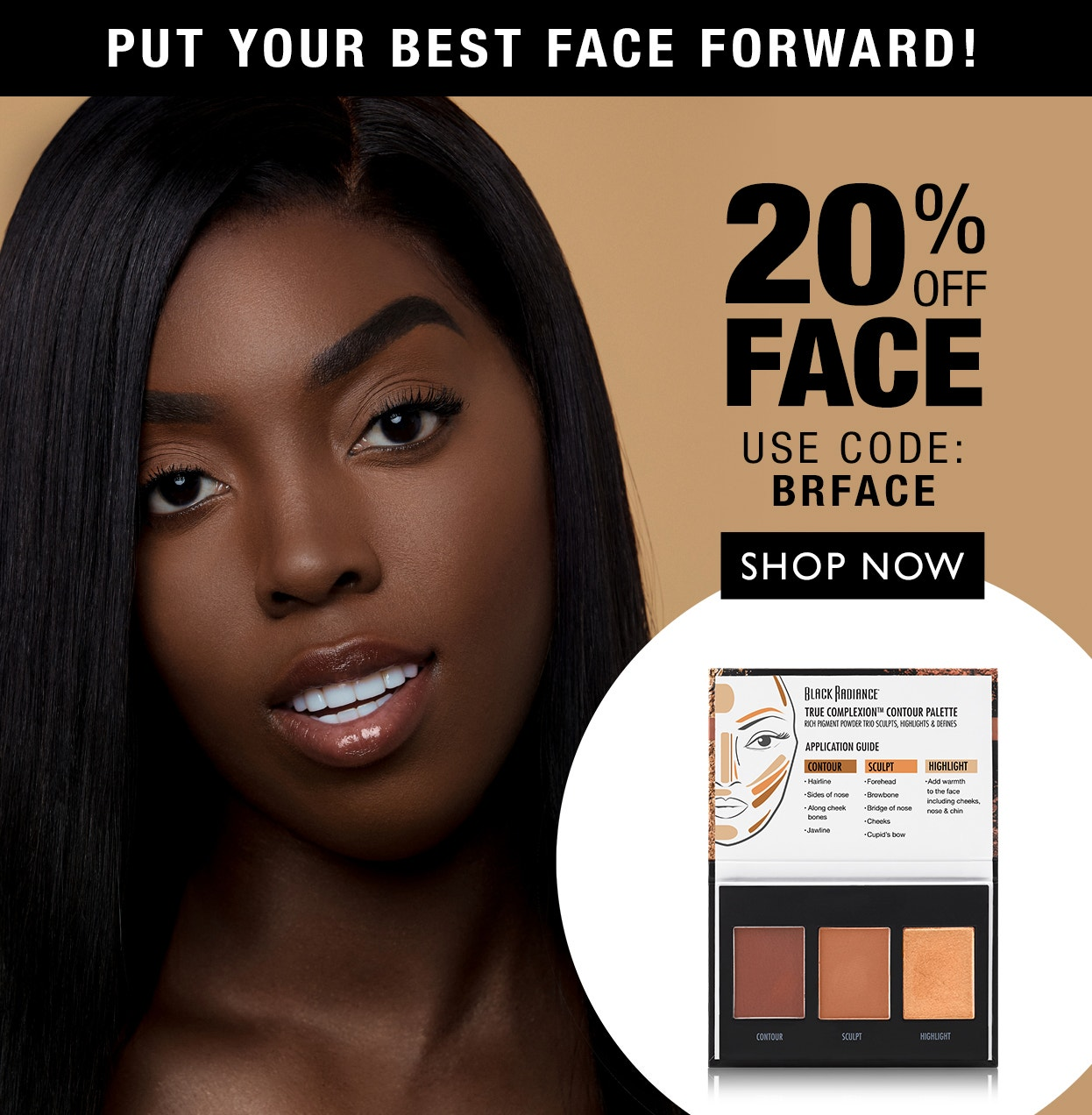 20% Off Face Products + Free Shipping on orders over $10 | Use Code: BRFACE