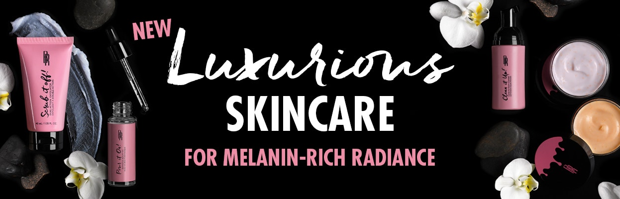 New Luxurious Skincare for Melanin-Rich Radiance | Shop Now!